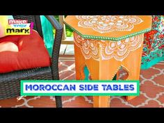 How to: Moroccan Side Table DIY - YouTube