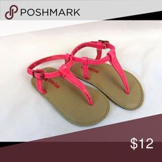 Baby Gap sandals Like new! Color is hot pink! baby gap Shoes Sandals & Flip Flops