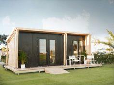 Cum arată casa ecologică modulară care se montează în doar 5 ore