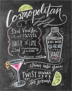 Lily & Val - Cosmopolitan-Rezept