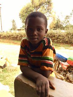 Making friends in Kisii