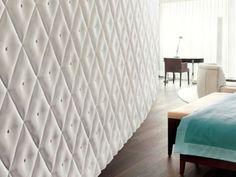 Panel de pared 3D CAPITONNÈ by 3D Surface | diseño Jacopo Cecchi, Romano Zenoni