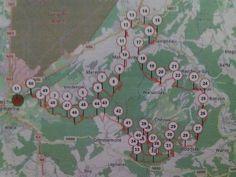 383 belles Grimaces de 17 à 80 km... dont la mienne