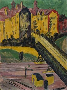 Ernst Ludwig Kirchner - View from the Window - Ernst Ludwig Kirchner - Wikimedia Commons