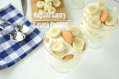 Just like the famous Magnolia Bakery banana pudding, without a red eye flight to NYC. (recipe)