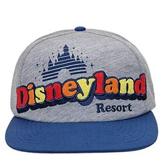 Throw back to the days of disco in this heathered Disneyland baseball cap with embroidered retro logo appliqué and heathered fabric shell. Wear it proud& Disney Clothing For Women, Disney Men, Disney Mickey, Fishing Equipment For Sale, Ear Hats, Men's Hats, Resort Logo, How To Make Animations, Mickey Mouse Club