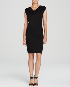 Three Dots Cowl Neck Dress | Bloomingdale's