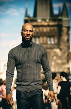 Women like men who dress well. Common knocked this look out the ball park! He is a manly man that always looks like he is ready to take on the world! LOVE HIM