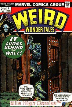 WEIRD WONDER TALES (1973 Series) #4 Fine Comics Book