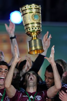 sport photograph of the year 2011  Raúl and DFB-Pokal