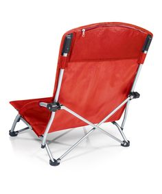 Take a look at this Red Tranquility Chair on zulily today!