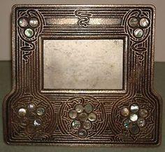 Art Nouveau Tiffany Studios Metal Picture Frame 1166 | eBay
