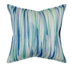 Hertex Oceana is bold, exotic with larger than life prints. Washed stripes, pointillist colour fields and shades of ombre add to the story. Scatter Cushions, Throw Pillows, Bespoke Furniture, Staycation, Fabric Design, Fields, Larger, Exotic, Stripes
