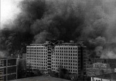 Bombardment of Zlín, 1945 London Bombings, Hiroshima, Vietnam War, Cold War, Churchill, World War Ii, Wwii, Skyscraper, Bohemia