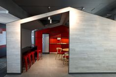 Phillip Morris South Africa Meeting Room by Source Interior Brand Architecture.