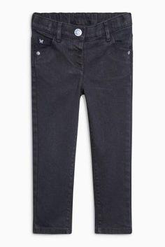 Charcoal Twill Skinny Jeans (3mths-6yrs)