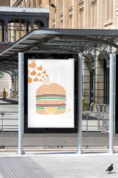 """McDonald's says the """"pictograms"""" campaign has """"placed the brand at the heart of the pop culture."""" Indeed, the marketer clearly believes the work is practically high fashion."""