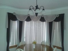 Large window curtain