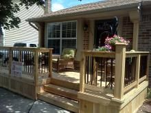 Front Deck Ideas | ... Deck Plans: Find The Right House Deck Plans ...