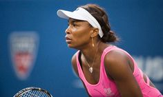 Venus Williams  First black woman tennis player to be world number one in the modern era