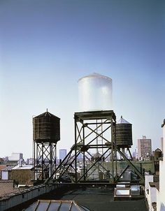 Rachel Whiteread - Water Tower, 1998