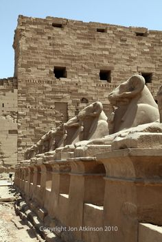 Karnak Temple Complex By Jon Atkinson: Photography, photographer, Karnak Temple, Ramesses, Ramssess II, Pylon, Sphinx, Obelisk, Thutmose, , ...