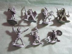 Lot of Six Dungeon and Dragons Figures Pewter 85 90 England | eBay