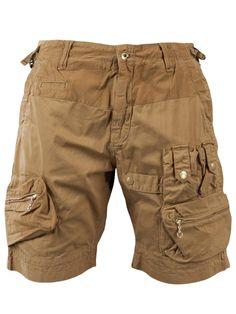 Male Dancer: Cut-offs Tan Neutral Functional Distress/ Worn-in Romper Pants, Men's Shorts, Pantalon Cargo, Mens Cargo, Tactical Clothing, Sharp Dressed Man, Clothing Items, Cargo Short, Men Dress