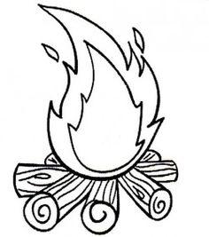 fogueira molde : Revista Artesanato
