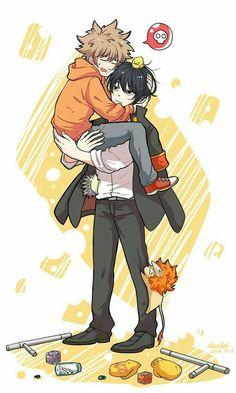 Tsuna and Hibari Reborn Katekyo Hitman, Hitman Reborn, Manga Anime, Anime Art, Mafia Families, Spray Paint Art, Cartoon Movies, Anime Love, Anime Couples