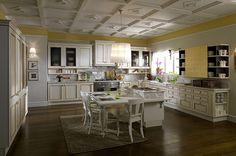 Cucina classica bianca 11