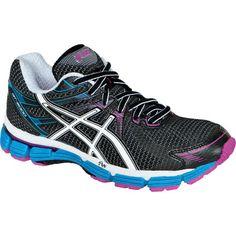 7fa09609f0504 Asics Running Shoe - Women s Black White Electric Blue
