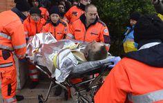 Passengers rescued from Italian ferry fire Fire