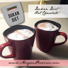 If you need something sweet on the Dukan Diet, enjoy this Dukan Diet Hot Chocolate Recipe!