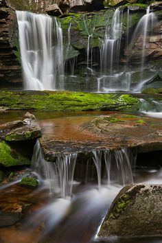 April Showers Bring... Waterfalls! by Chris Tennant, via 500px