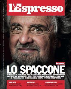 La copertina dell'Espresso in edicola da venerdì 31 gennaio