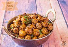 Lunch Box recipes Archives - Kali Mirch - by Smita Baby Potato Fry, Baby Potatoes, Fried Potatoes, Lunch Box Recipes, Snacks Recipes, Best Breakfast, Breakfast Recipes, Tiffin Recipe, Indian Veg Recipes