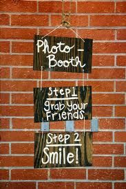 Photo booth instructions!