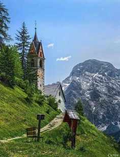Countryside church in Italy.