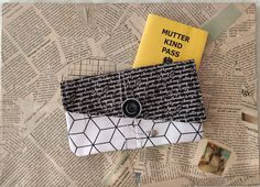 Mutter-Kind-Pass Hülle/Clutch Passports For Kids, To Go, Clutch, Mother And Child, Cotton Fabric, Etsy, Personalized Items, Sewing, Children