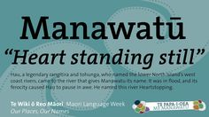Maori is a beautiful language and is one of NZ's three official languages alongside English and sign language. See these translations of place names in Palmerston North City & Manawatu. Visit New Zealand, New Zealand Travel, Second Language, Sign Language, New Zealand Adventure, Maori People, All Things New, Place Names, My Land