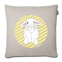 What a cute bunny/ rabbit pillow pillow! Was für ein süßes Hasen / Kaninchen Kissen!