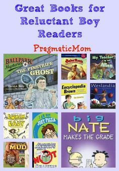 Great Books for Reluctant Boy Readers