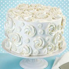 Never Forget Rosette Cake
