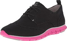 Cole Haan Womens Zerogrand Dcon Wing Oxford Women's Walking Shoes Shoe Black 5 B US *** Continue to the product at the image link.