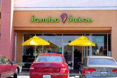 Jamba Juice...delish smoothies!