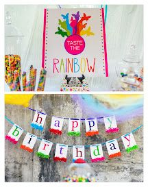 Emmee's Somewhere over the Rainbow Party {featured on Shop Sweet Lulu -- Photography by Jeremy Reed Photography}