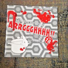Arrggghhhh!! Scary Colouring Book by I Love Mel!