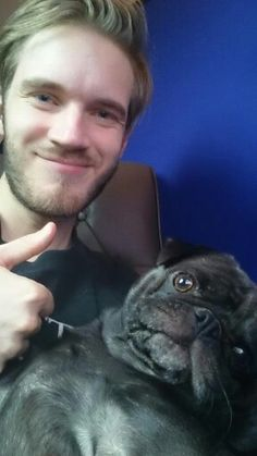 Pewdiepie and Edgar