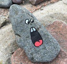 Rock painting ideas diy 160 - Rock Kunst - Welcome Haar Design Rock Painting Patterns, Rock Painting Ideas Easy, Rock Painting Designs, Paint Designs, Rock Painting Kids, Pebble Painting, Pebble Art, Stone Painting, Painting Art